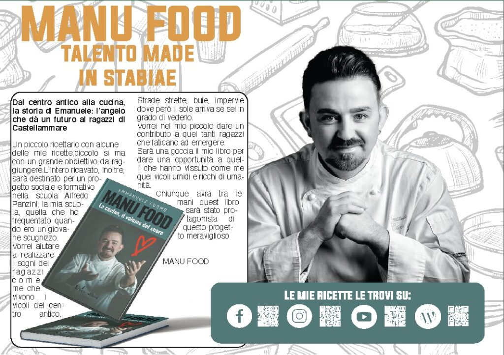 Manu Food - Talento Made in Stabiae